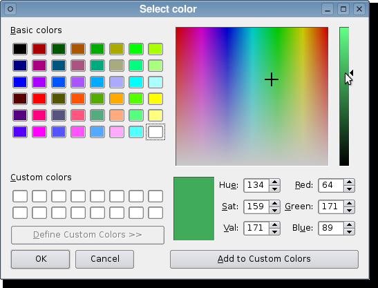 QColorDialog — PySide v1 0 7 documentation